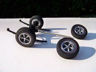 18 Lane Pontiac 5 Spoke Firebird Wheel Tire Set with Differential
