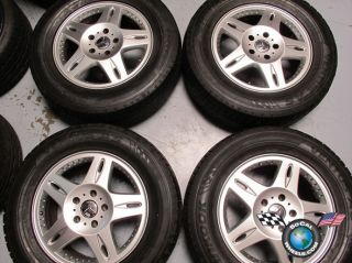 Mercedes G500 G Wagon Factory 18 Wheels Tires OEM Rims 65266 type 463