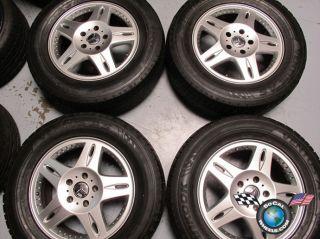 Mercedes G500 G Wagon Factory 18 Wheels Tires OEM Rims 65266 type 463