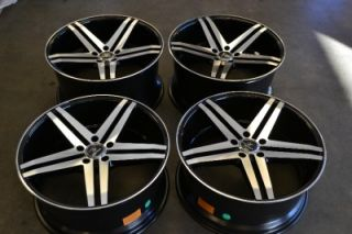 VERDE PARALLAX STAGGERED WHEELS RIMS DODGE IMPALA MALIBU 20x9 20x10