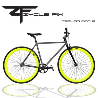 Fixed Gear Bike Fixie Bike Track Bicycle 52 cm w Deep Teflon Don