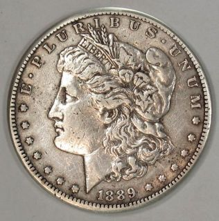1889 CC Morgan Silver Dollar RARE Key Date XF Detail Layaway Available