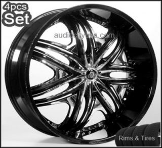 Wheels and Tires Pkg for Lexus Impala Honda Audi Jaguar Rims