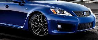 Perfect OEM Factory Lexus ISF Performance 19 inch HyperBlack WHEELS