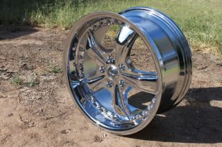 18 Inch CHROME RAZOR RIMS 5 Lug Wheels Ford Mustang 05   12 GT Shelby