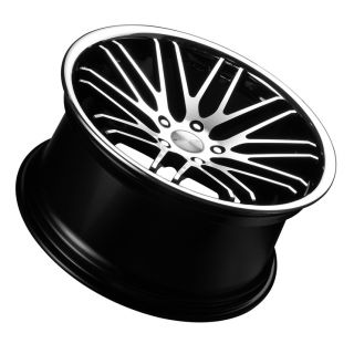 19 Stance Evolution Wheel Black Mercedes C Class C230 C240 C280 C300