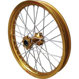 Excel Pro Series Rear Wheel Set 18 X2 50 32h Gold Gold Rim UR4FG412