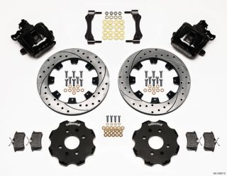 Wilwood Disc Brake Kit Honda Civic 262mm Black Drilled