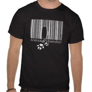 Animal Liberation Black Guys Shirt