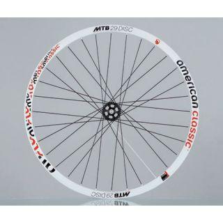 Classic MTB 29 Tubeless Disc Bike Bicycle Wheelset Rim White