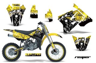 AMR Racing Off Road Number Plate Background Deco MX Suzuki RM 85 02 12