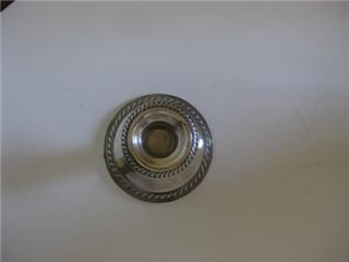 Ellmore Sterling Silver Candlestick Candle Holder 230