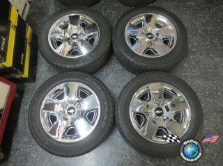 Chevy Silverado Tahoe Factory 20 Wheels Tires OEM Rims Avalanche 5417