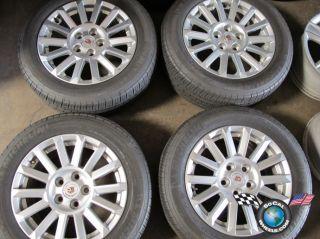 2010 Cadillac CTS Factory 17 Wheels Tires Rims OEM 4668 9597611
