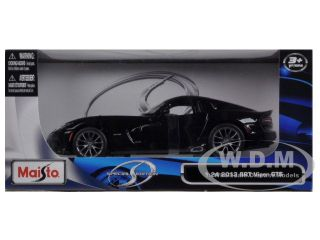 2013 Dodge Viper SRT GTS Black 1 24 Diecast Car Model by Maisto 31271