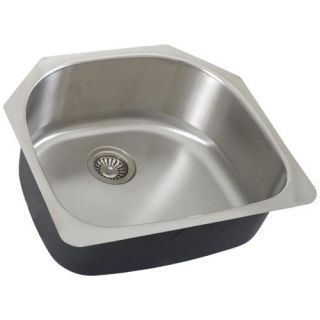 Single Bowl Undermount Stainless Steel Kitchen Sink 16g