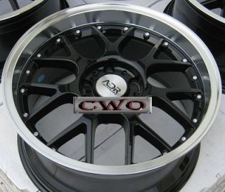 19 Black adr M Sport Wheels Rims 5x4 75 5 Lug Camaro Firebird s 10