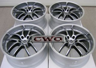 19 Gunmetal Stern St 1 Wheels Rims 5x120 5 Lug BMW 5 6 7 8 Series S10