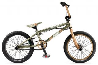 2010 SE Wildman 18 BMX Bike Table Top Brown