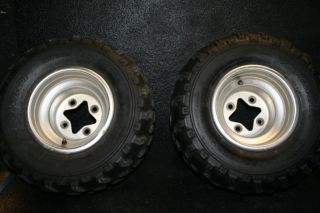 LTZ400 LTZ KFX400 KFX 400 Rear Wheels Tires Rim Stock