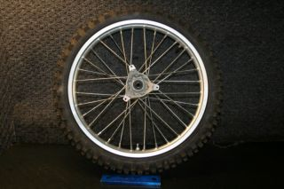 Honda CR85 CR 85 Expert Front Wheel Hub Rim Spoke