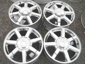 Cadillac cts STS 17 Polished Alloy Wheel Rim Set