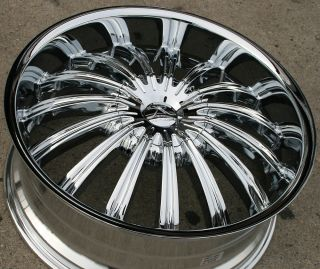 Karizzma Helios KR07 20 Chrome Rims Wheels Chevrolet Trailblazer