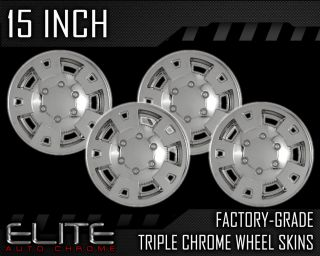 YOUR FACTORY ALLOY WHEELS MUST BE AN EXACT MATCH TO THE CHROME WHEEL