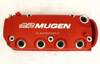 Valve Cover Red SOHC vtec Honda 96 97 98 99 00 Civic EX