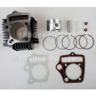 52mm Cylinder Piston Rings Kit for 110cc Kids ATVs Quad Dirt Pit Bikes