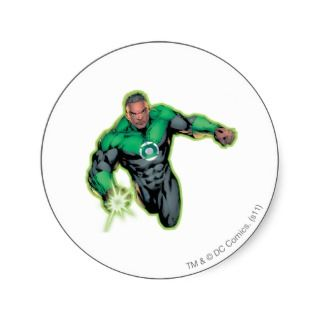 Comic Style   Green Lantern Sticker