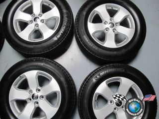 Jeep Grand Cherokee Factory 18 Wheels Tires Rims Michelin 9105