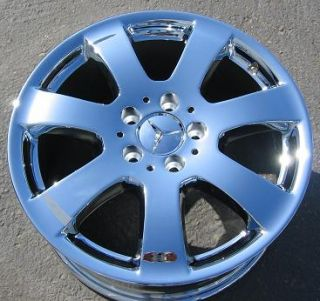 17 Mercedes ML350 R350 ML320 Chrome Wheels Rims Exchange Stock