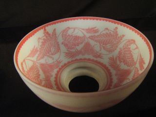 1880s MT Washington Cameo Glass Pink White 10 Shade