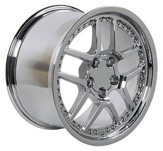Chrome Fits Corvette Z06 Camaro C5 C4 rims Firebird Trans Am wheels