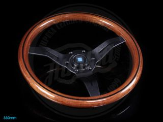 Nardi is widely known for its high quality steering wheels. With a