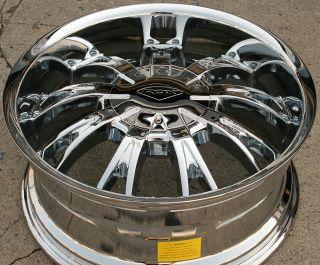 Rox Show 320 20 Chrome Rims Wheels Cadillac SRX Uplander 20 x 8 5 6H