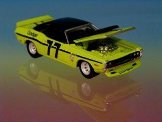 Hot Wheels 70 Dodge Challenger scca Trans Am Racer Limited Edition 1