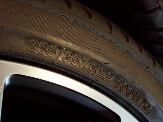 22 Porsche Cayenne Wheels s GTS Turbo VW Touareg Audi Q7 Tires
