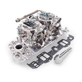 Edelbrock Performer Intake Manifold and Carburetor Kit