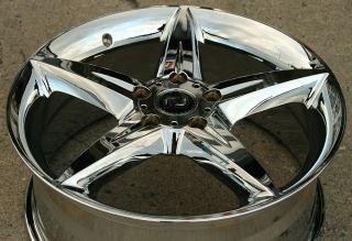 Ron Jon Servo 17 Chrome Rims Wheels Honda Civic DX GX EX LX 06 Up 5