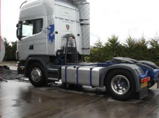 Scania Volvo DAF Mercedes Man Iveco Truck Stainless Steel Wheel Trim