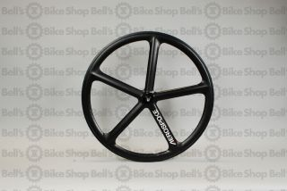 Aerospoke Track Front Wheel Matte Black Non Machined