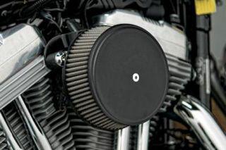 Arlen Ness Stage I Scalloped Billet Cover Black 18 787 Harley Davidson