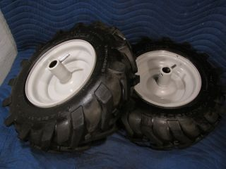 Tires Wheels Perfect Troy Bilt Horse Rototiller Tiller Carlisle Power