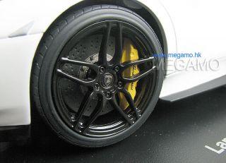 Murcielago Lamborghini LP670 4 SV Super Veloce Matt White black Rim