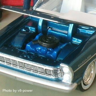 1965 Ford Galaxie 500 Opening Hood RRs 1 64 Diecast Rte 66 Set Excl 1