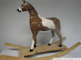 Large Antique German Rocking Horse Carousel Horse 1890