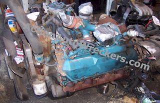 International 444E 7 3L Turbo Diesel Engine