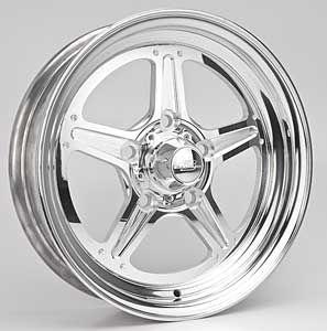Billet Specialties RS035406122N 15x4 Street Lite Wheel